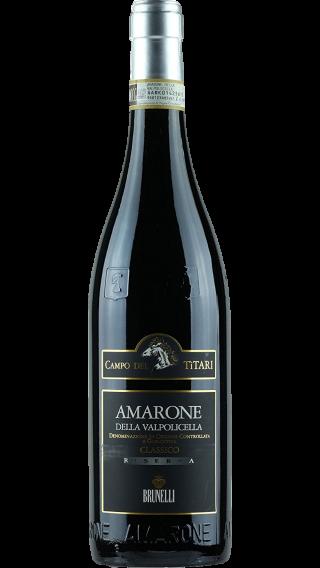 Bottle of Brunelli Amarone Campo Dei Titari Riserva 2015 wine 750 ml