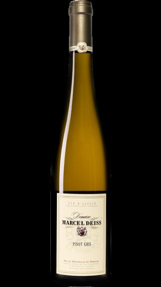 Bottle of Marcel Deiss Pinot Gris 2015 wine 750 ml