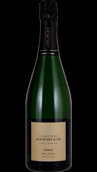 Bottle of Champagne Agrapart  Venus Nature Blanc de Blancs Grand Cru 2013 wine 750 ml