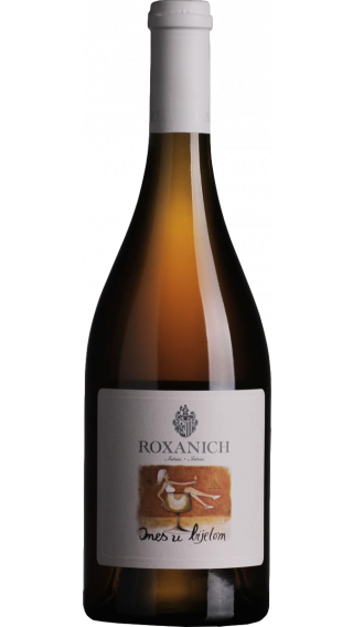 Bottle of Roxanich Ines U Bijelom 2010 wine 750 ml