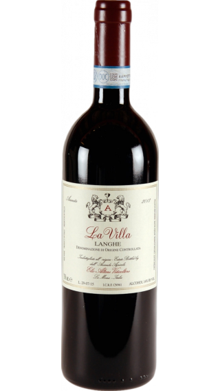 Bottle of Elio Altare Langhe La Villa 2013 wine 750 ml