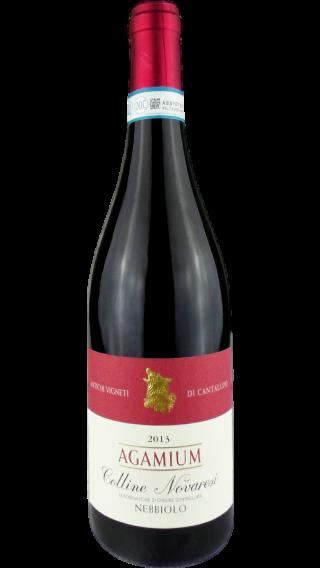 Bottle of Cantalupo Colline Novaresi Agamium 2013 wine 750 ml