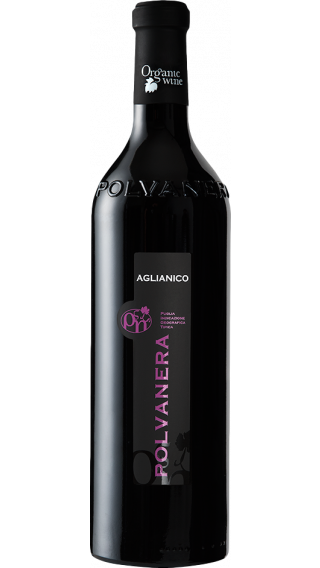 Bottle of Polvanera Aglianico 2017 wine 750 ml