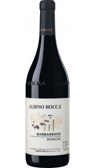 Bottle of Albino Rocca Barbaresco Ronchi 2016 wine 750 ml
