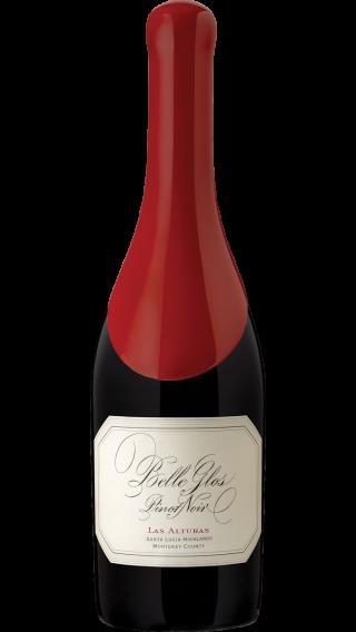 Bottle of Belle Glos Las Alturas Pinot Noir 2017 wine 750 ml