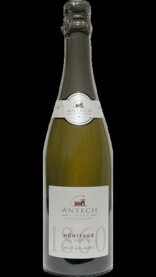 Bottle of Antech Heritage Cremant Brut 2016 wine 750 ml