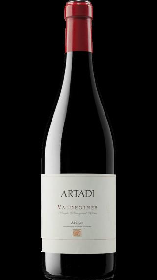 Bottle of Artadi Valdegines 2015 wine 750 ml