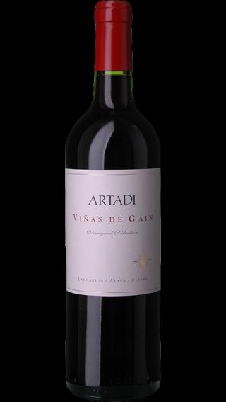 Bottle of Artadi Vinas de Gain 2017 wine 750 ml