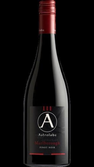 Bottle of Astrolabe Marlborough Pinot Noir 2015 wine 750 ml