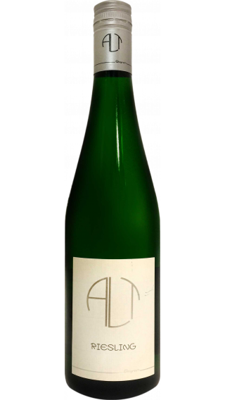 Bottle of Andreas Alt Riesling 2016 wine 750 ml