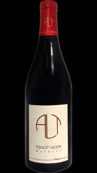 Bottle of Andreas Alt Pinot Noir Reserve 2015 wine 750 ml