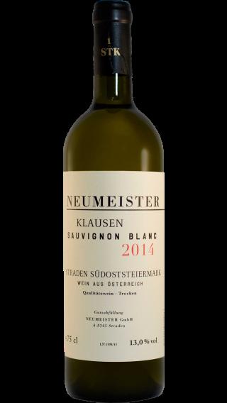 Bottle of Neumeister Klausen Sauvignon Blanc 2014 wine 750 ml