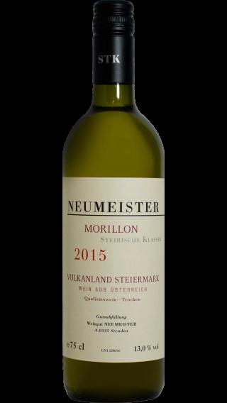 Bottle of Neumeister Morillon Steirische Klassik  2015 wine 750 ml