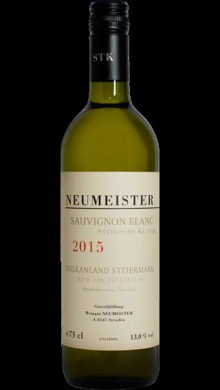 Bottle of Neumeister Sauvignon Blanc Steirische Klassik 2015 wine 750 ml
