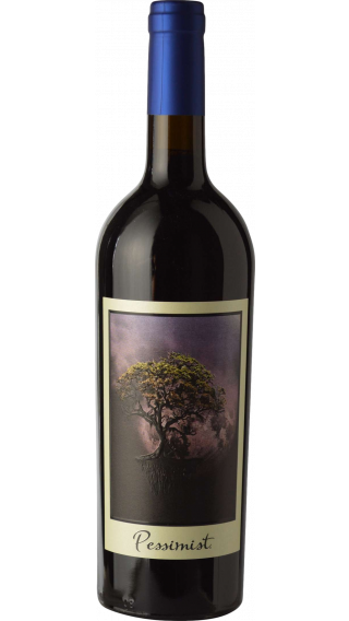 Bottle of DAOU The Pessimist Red 2017 wine 750 ml