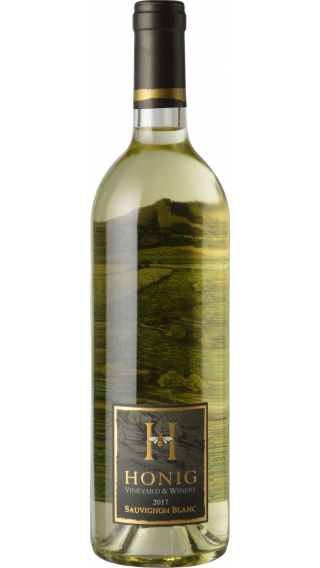 Bottle of Honig Sauvignon Blanc 2017 wine 750 ml