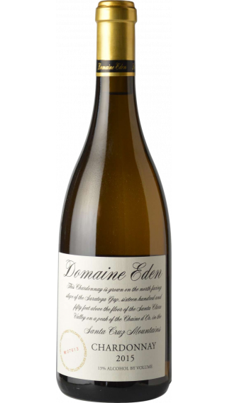 Bottle of Domaine Eden Chardonnay 2016 wine 750 ml