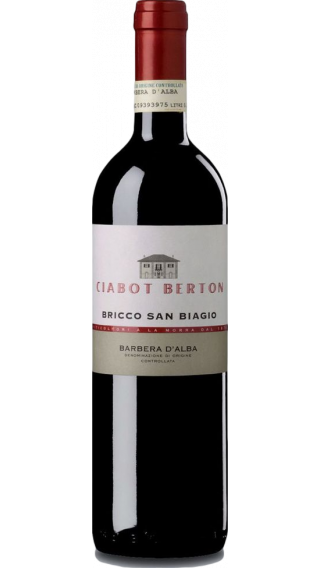Bottle of Ciabot Berton Barbera Bricco San Biagio 2015 wine 750 ml