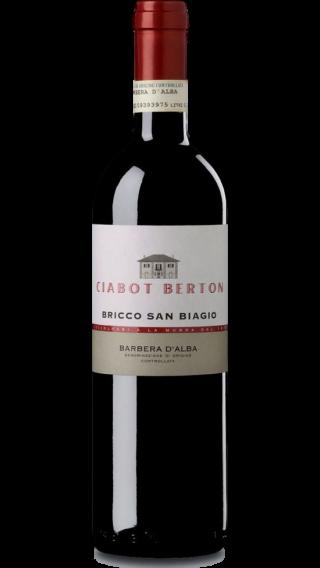 Bottle of Ciabot Berton Barbera Bricco San Biagio 2017 wine 750 ml