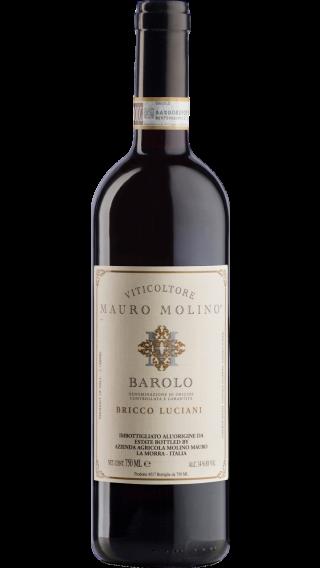 Bottle of Mauro Molino Barolo Bricco Luciani 2016 wine 750 ml