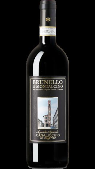 Bottle of Canalicchio di Sopra Brunello di Montalcino 2014 wine 750 ml