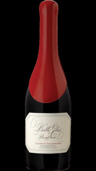 Bottle of Belle Glos Clark & Telephone Pinot Noir 2018 wine 750 ml