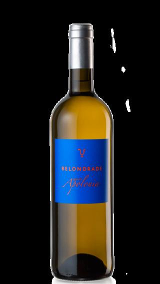 Bottle of Belondrade Quinta Apolonia 2018 wine 750 ml