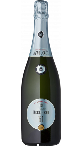 Bottle of Berlucchi 61 Franciacorta Saten wine 750 ml