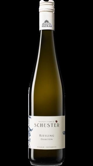 Bottle of Schuster Riesling Diebstein 2017 wine 750 ml