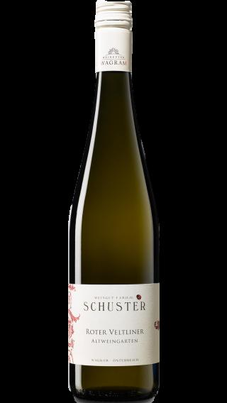 Bottle of Schuster Roter Veltliner Altweingarten 2017 wine 750 ml