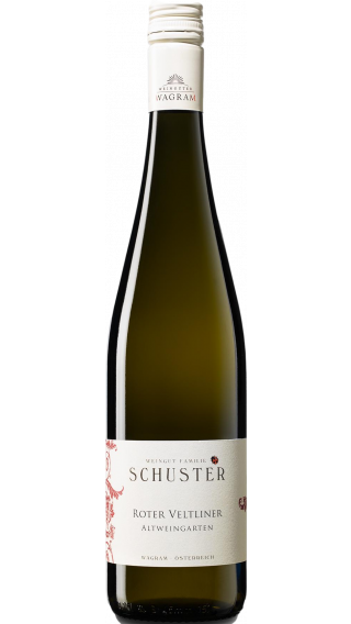 Bottle of Schuster Roter Veltliner Altweingarten 2018 wine 750 ml