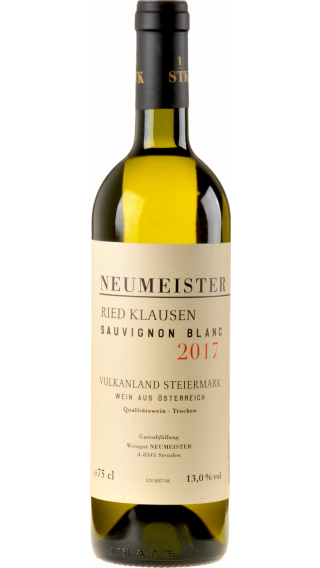 Bottle of Neumeister Klausen Sauvignon Blanc 2017 wine 750 ml