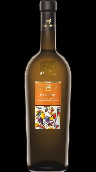 Bottle of Tenuta Ulisse Pecorino 2019 wine 750 ml