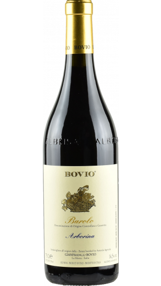 Bottle of Bovio Arborina Barolo 2016 wine 750 ml
