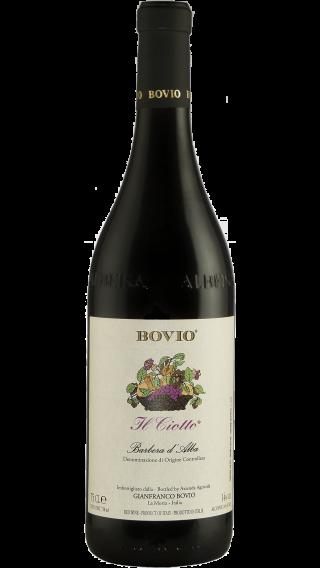 Bottle of Bovio Il Ciotto Barbera d'Alba 2018 wine 750 ml