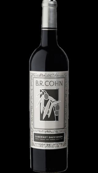 Bottle of B. R. Cohn Silver Label Cabernet Sauvignon 2017 wine 750 ml