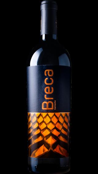 Bottle of Breca 2017 wine 750 ml