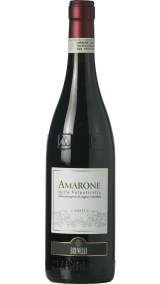 Bottle of Brunelli Amarone Della Valpolicella Classico 2017 wine 750 ml