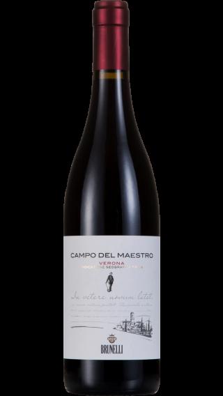 Bottle of Brunelli Campo del Maestro 2017 wine 750 ml