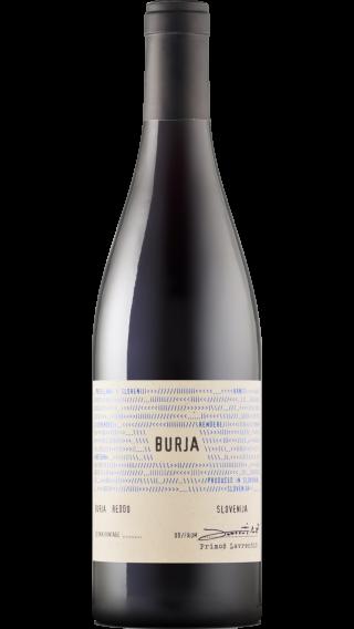 Bottle of Burja Reddo 2018 wine 750 ml