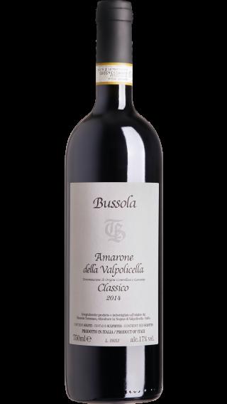 Bottle of Bussola Amarone della Valpolicella Classico 2014 wine 750 ml