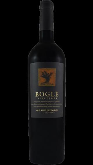 Bottle of Bogle Old Vine Zinfandel 2017 wine 750 ml