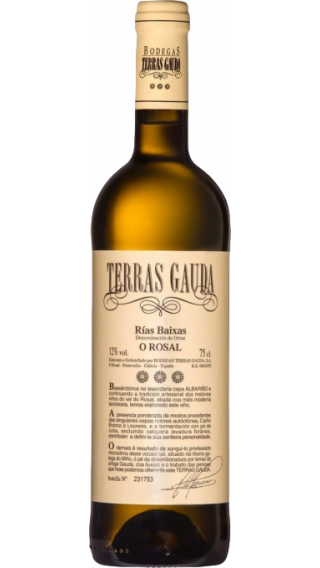 Bottle of Terras Gauda 2017 wine 750 ml