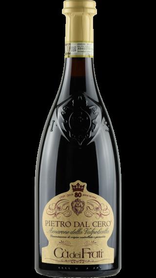 Bottle of Ca dei Frati Pietro dal Cero Amarone della Valpolicella 2013 wine 750 ml