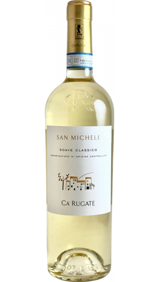 Bottle of Ca Rugate San Michele Soave Classico 2019 wine 750 ml