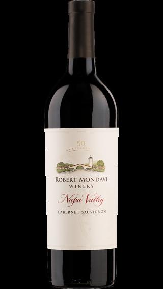 Bottle of Robert Mondavi Napa Valley Cabernet Sauvignon 2014 wine 750 ml