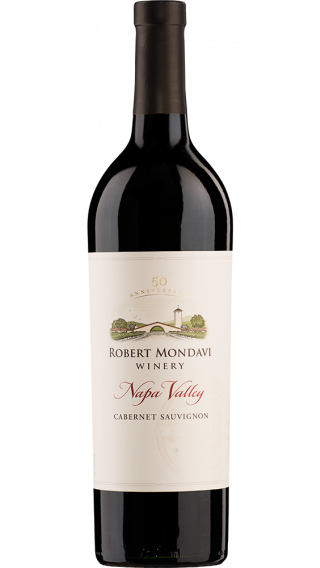 Bottle of Robert Mondavi Napa Valley Cabernet Sauvignon 2015 wine 750 ml