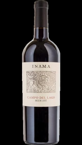 Bottle of Inama Campo del Lago Merlot 2015 wine 750 ml