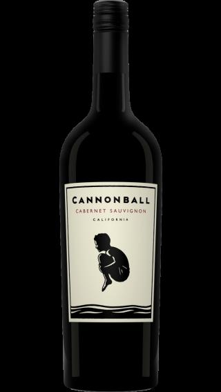 Bottle of Cannonball Cabernet Sauvignon 2017 wine 750 ml
