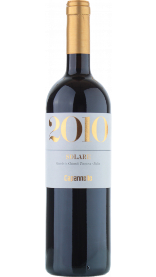 Bottle of Capannelle Solare 2010 wine 750 ml